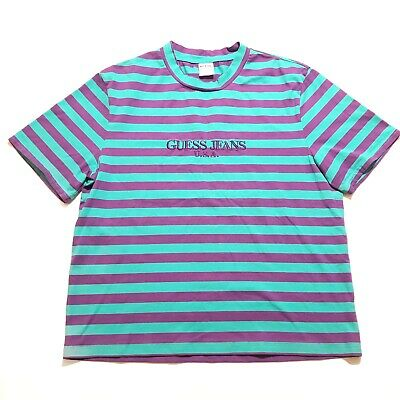 965ae48a86a4 Guess Jeans x Sean Wotherspoon Striped T-Shirt Limited Edition Farmers  Market