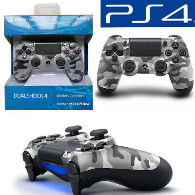 PS4 DUALSHOCK 4 URBAN CAMOUFLAGE WIRELESS CONTROLLER -  Grey Camo