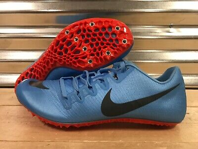 582f33588c01 Nike Zoom JA Fly 3 Track Spikes Football Blue Orange Grey SZ ( 865633-446