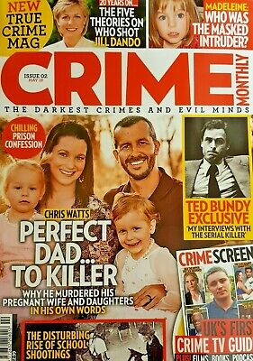 Crime Monthly Magazine May 2019 # 02 = Darkest Crimes And Evil Minds