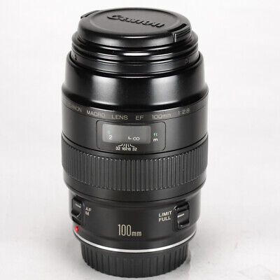 Canon EF 100mm f/2.8 Macro Non-USM Lens from Japan << Excellent >> 1039