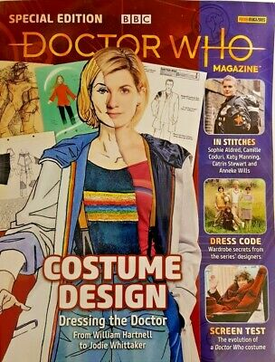Bbc Doctor Who Magazine 2019 Special Edition Summer # 52 = Costume Design