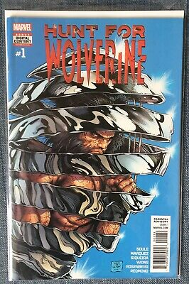 HUNT FOR WOLVERINE #1 Bagged And Boarded