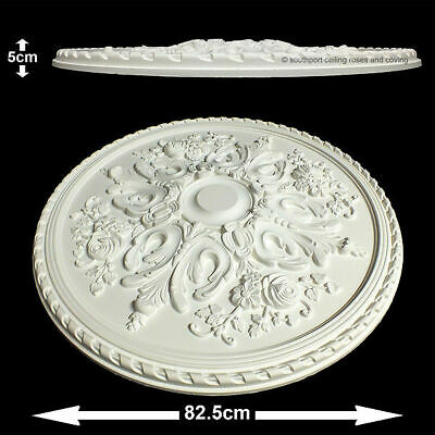 82.5cm Diameter, Lightweight Ceiling Rose (made of strong resin not polystyrene)