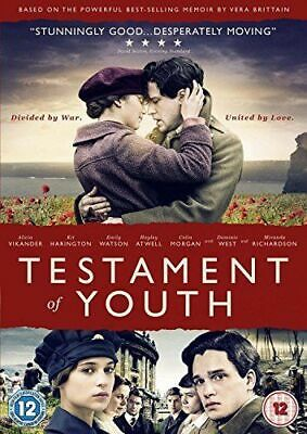 Testament of Youth - Emily Watson & Kit Harrington (DVD) (New & Sealed)