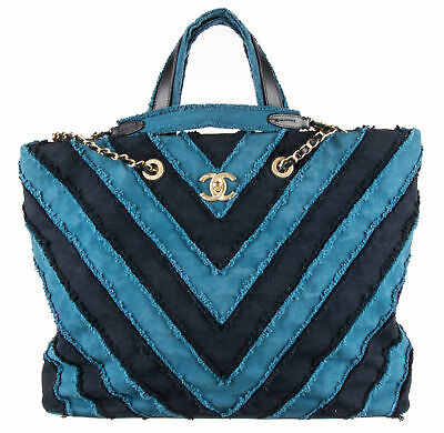 1327b5e79000 CHANEL URBAN SPIRIT Drawstring Bag Quilted Denim Small - $2,230.00 ...