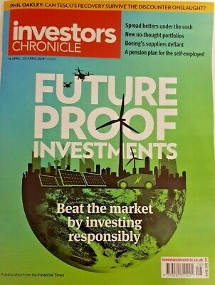 Investor's Chronicle Magazine 18 April 2019 = Future Proof Investments