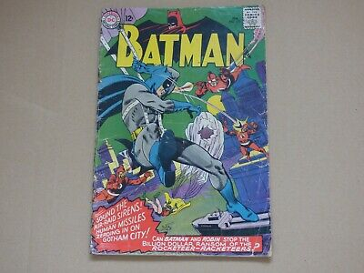 DC Batman #178 Silver Age! cents issue