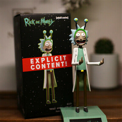 Rick and Morty Figure Rick Model Anime Around Ornaments Gift Peace Among Worlds