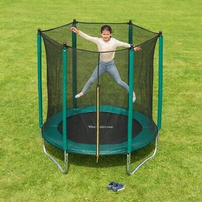 6ft trampoline with enclosure