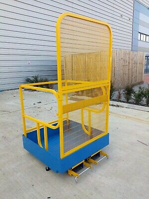 Forklift Safety Access Platform Man Cage Basket -foldaway  Brand New