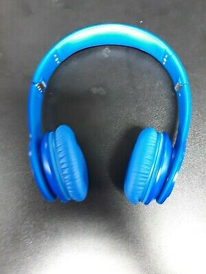 Beats Solo HD by Dr. Dre Blue Wired On the Ear Headphones With Case