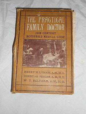 The Practical Family Doctor 1907 lyman fenger belfield herbs plants medicinal Ai