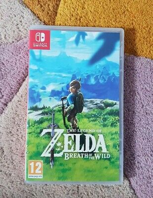 The Legend of Zelda Breath of The Wild Standard Edition Nintendo Switch