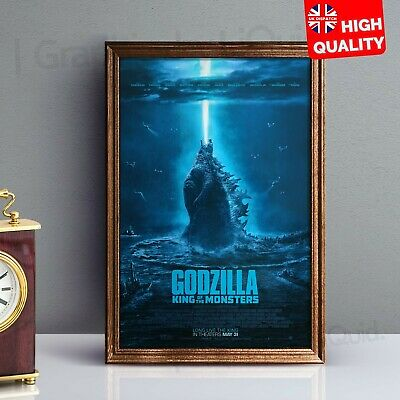 Godzilla King Of The Monsters Art Print Poster Movie 2019 | A4 A3 A2 A1 |