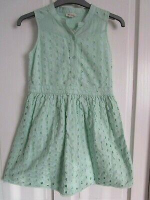 girls river island short length dress mint green age 10 years new with tag