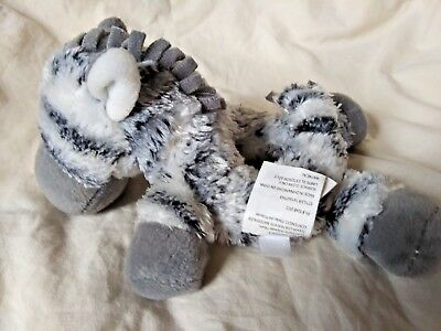 Koala Baby Black White Gray Zebra Hand Rattle Plush Animal Soft Baby Toy