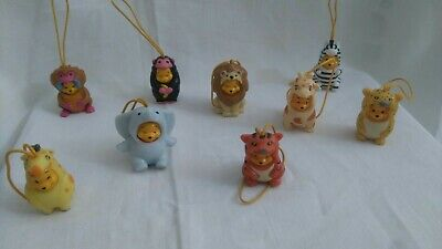 Winny The Pooh Tomy Set Wear Savannah Animal Collection