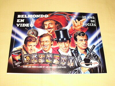 BELMONDO EN VIDEO publicité advertising
