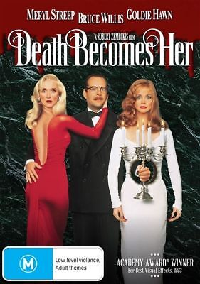 Death Becomes Her (DVD, 2016), NEW SEALED AUSTRALIAN RELEASE REGION 4