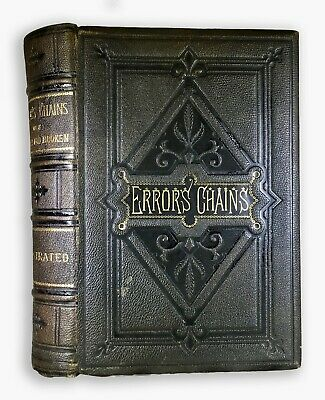 1883 Error Chains OCCULT Mythology Magic World Rituals EGYPT INDIA ROME Gods 1ST