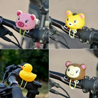 Rubber Kids Bike Bell Light Tricycle Scooter Bicycle Handlebar Air Horn Bells