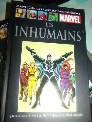 Les Inhumains  Tome Ix - Marvel Comics , La Collection De Reference  Neuf