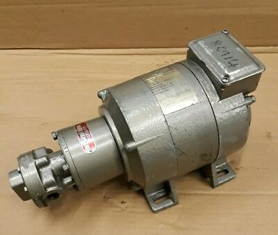 Pavalux Electric Motor SD18 502234/9l & Lumatic Pump 672-1310.000