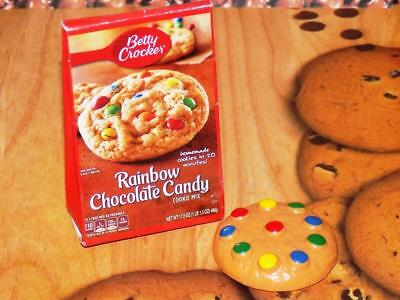Betty Crocker Rainbow Chocolate Chip Cookie Mix Play Food Lot Realistic Toddler