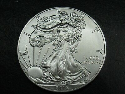 2015 Walking Liberty American Eagle 1 Oz .999 COMBINED SHIPPING ADD $2.00 EACH