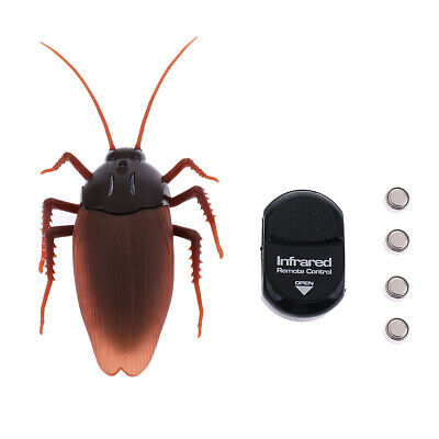 Funny Simulation Animal Cockroach Infrared Remote Control Halloween Mischief Toy