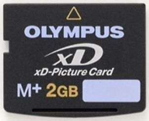 OLYMPUS 2GB XD 2 GB Fuji Memory Card M-XD2GMP M+ for Camera New In Case FROM USA