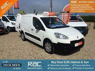 2013 (63) Peugeot Partner S 1.6 Hdi L1**direct Council**only 18,000 Miles**fsh**
