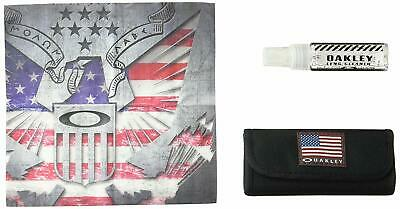 Oakley Lens Cleaning Case USA Flag Glasses Sunglasses Sports Outdoors