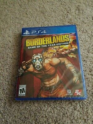 Borderlands Game of the Year Edition PS4 2019 IN HAND