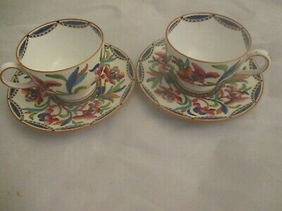 2 Wedgwood Cups And Saucers