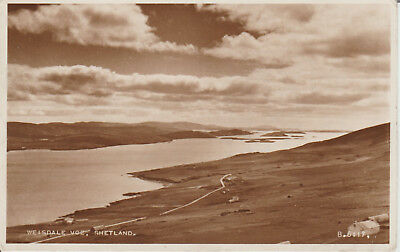 SHETLAND--WEISDALE VOE--Scotland > REAL PHOTO  POSTCARD #18514