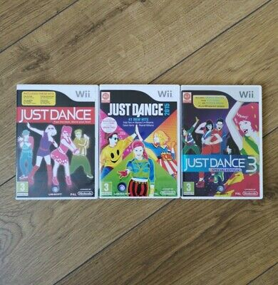 Nintendo Wii Just Dance / 2015 / 3 Special Edition [ 3 Game Bundle ] Genuine