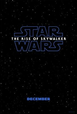 Star Wars Episode 9 The Rise of Skywalker Movie Poster Art Print 11x17