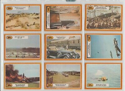 Battle Of Britain by A&BC Gum 66 Cards Full Set Bubblegum cards