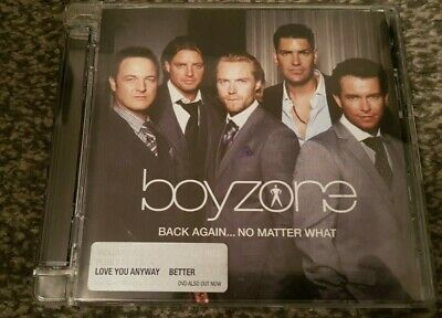 "Boyzone - ""Back Again No Matter What"" Greatest Hits 2008 CD (Used=Mint)"