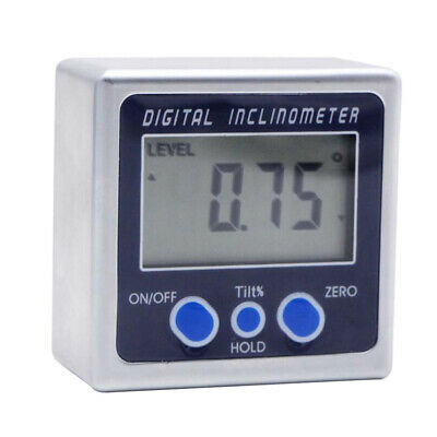Digital Bevel Box Gauge Angle Finder Protractor Inclinometer Magnetic Base