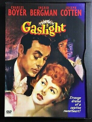 Gaslight DVD, Jimmy Hanley, Minnie Rayner, Robert Newton, Cathleen Cordell, Fran