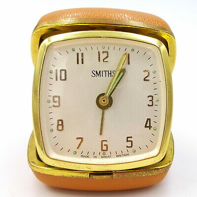 Vintage Travel Alarm clock Smith