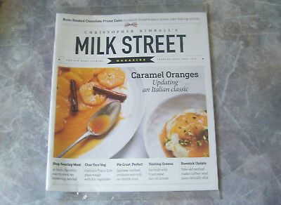 Christopher Kimball's Milk Street Magazine Charter Issue Fall 2016 NEW