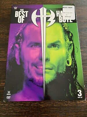WWE Twist Of Fate: The Best Of The Hardy Boyz 2018 DVD) Slipcover FACTORY SEALED