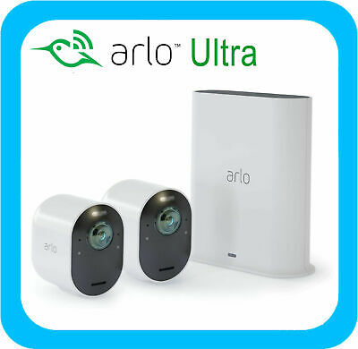 Arlo Ultra 4K Uhd Wire-Free Security Camera System - 2 Cameras - Vms5240