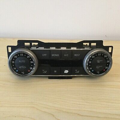 Mercedes C Class W204 Climate Control Panel Heater Switch Ac 2048309985