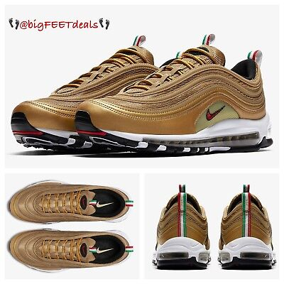 cheap for discount b2ee8 00909 NIKE AIR MAX 97 CR7 Gold TZ 8US 7UK 41EU New DS - $499.00 ...