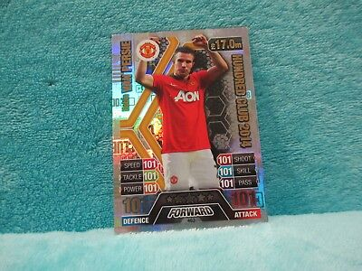 Match Attax Attack 16/17 2016/17 463 Robin Van Persie Legend Hundred 100 Club